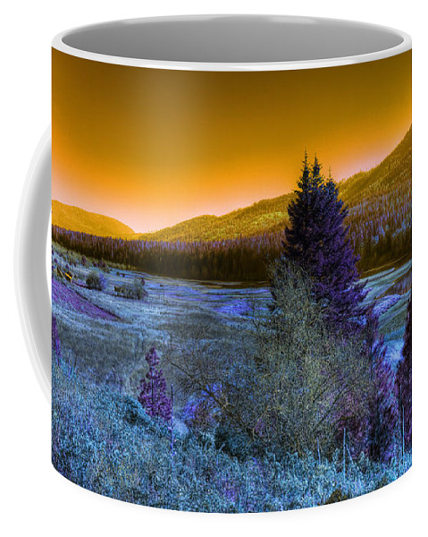 Fantasy Coffee Mug featuring the photograph An Idaho Fantasy 1 by Lee Santa