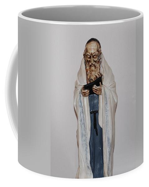 Rabbi Coffee Mug featuring the photograph An Old Rabbi by Rob Hans