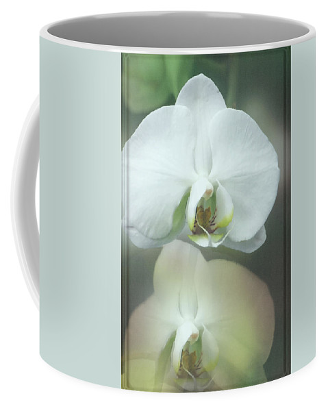 Orchid Coffee Mug featuring the photograph An Orchid For You by Debbie Nobile