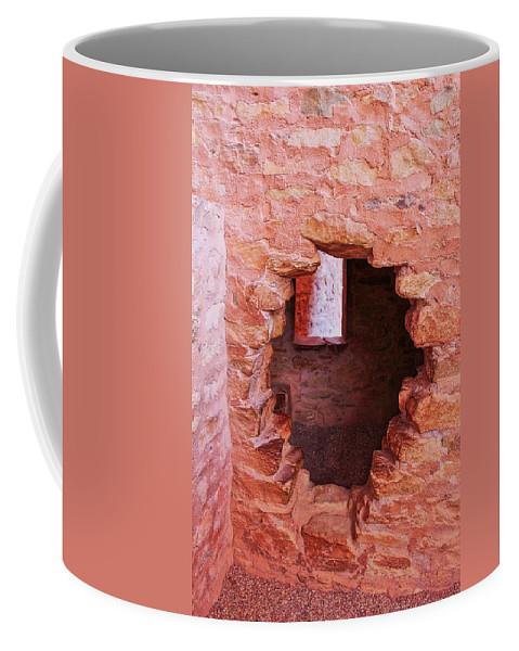 Cliff Dwellings Coffee Mug featuring the photograph Anasazi Cliff Dwellings #10 by Lorraine Baum