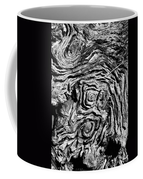 Tree Coffee Mug featuring the photograph Ancient Stump by Christopher Holmes