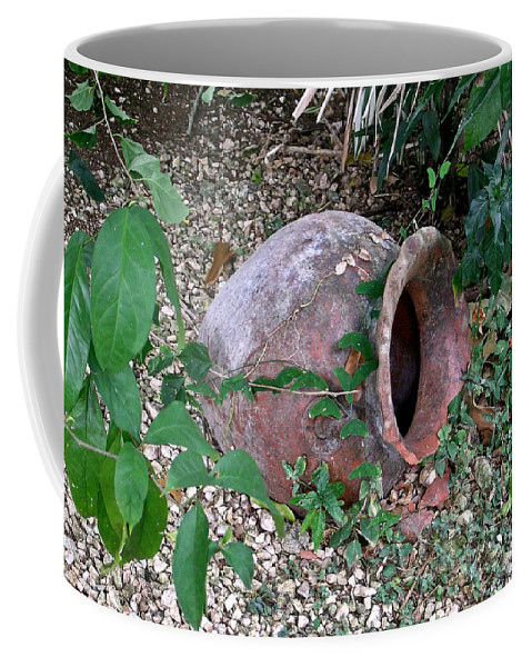 Ancient Coffee Mug featuring the photograph Ancient Urn by Douglas Barnett