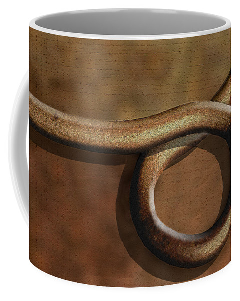 Abstract Coffee Mug featuring the photograph And Back Again by Paul Wear