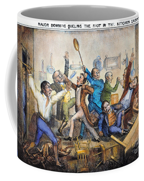 1833 Coffee Mug featuring the photograph Andrew Jackson (1833) by Granger