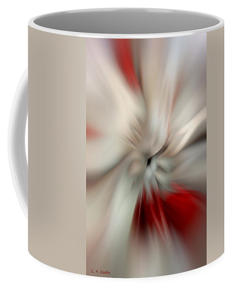 Angel Coffee Mug featuring the photograph Angel In Battle by Lauren Radke