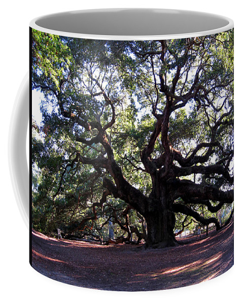 Photography Coffee Mug featuring the photograph Angel Oak II by Susanne Van Hulst