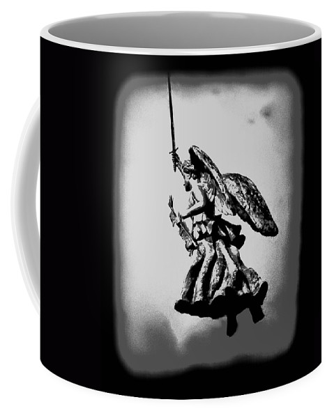 Angel Coffee Mug featuring the photograph Angel Of Gettysburg by Bill Cannon