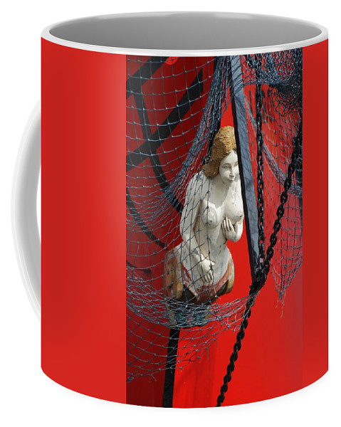 Ship Coffee Mug featuring the photograph Angel Of The Seas by Rob Hans