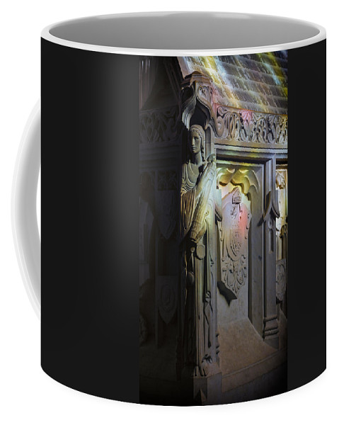 Angel Coffee Mug featuring the photograph Angelic Escort by Stephen Stookey