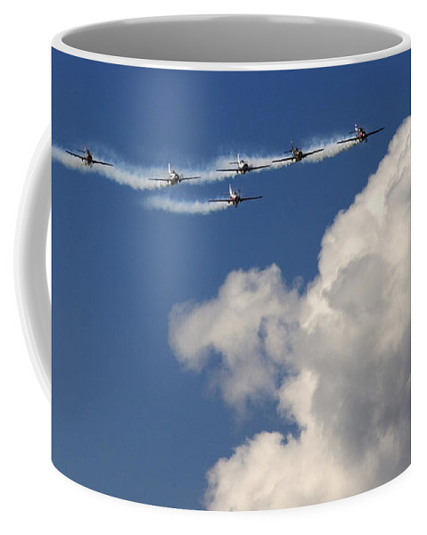 Angels Coffee Mug featuring the photograph Angels by Angel Ciesniarska