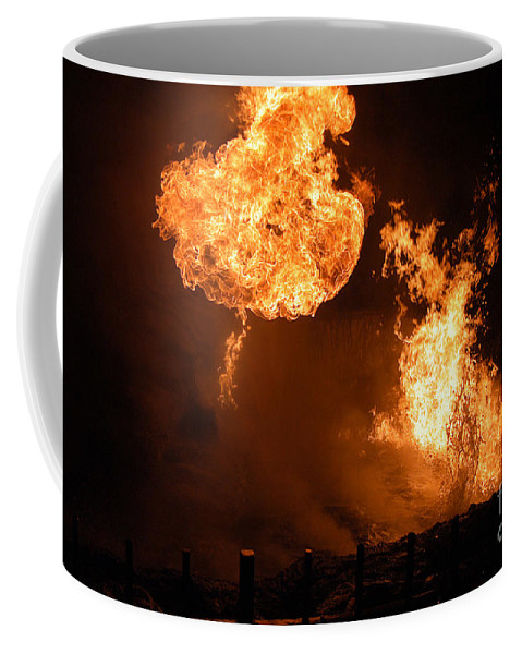 Clay Coffee Mug featuring the photograph Angry Face by Clayton Bruster