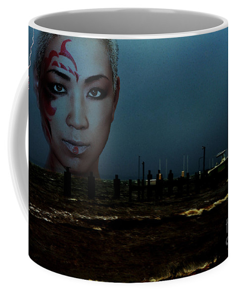 Clay Coffee Mug featuring the photograph Angry Sea by Clayton Bruster