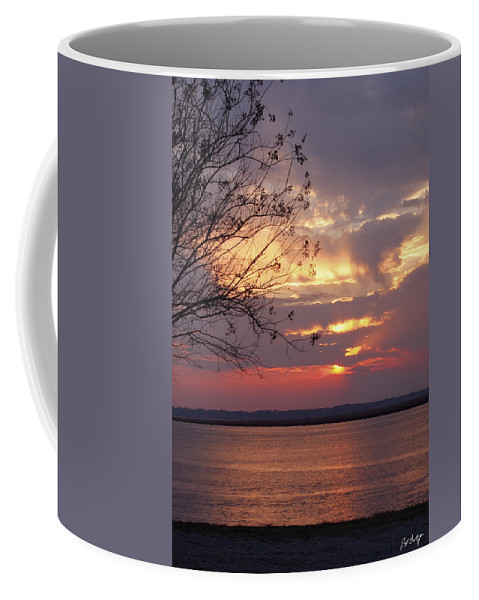 Sunset Coffee Mug featuring the photograph Angry Sky by Phill Doherty