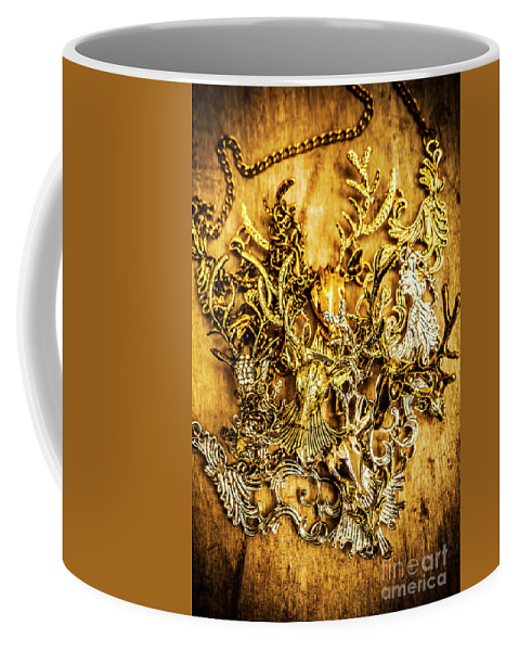 Animal Coffee Mug featuring the photograph Animal Amulets by Jorgo Photography - Wall Art Gallery