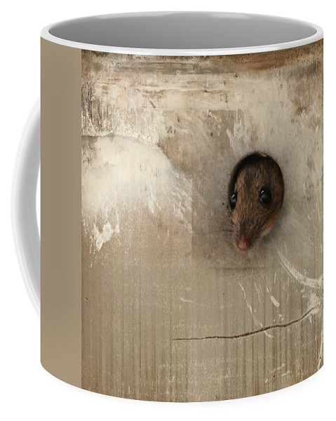 Fauna Coffee Mug featuring the photograph Anneliese Is Ready For Visit by Heike Hultsch
