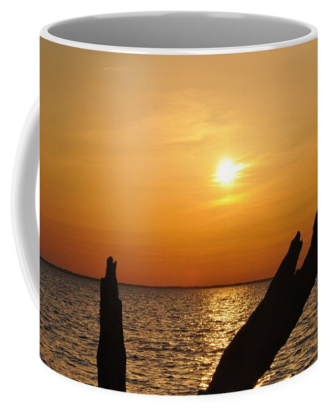 Sunset Coffee Mug featuring the photograph Another Day Done by Bill Cannon