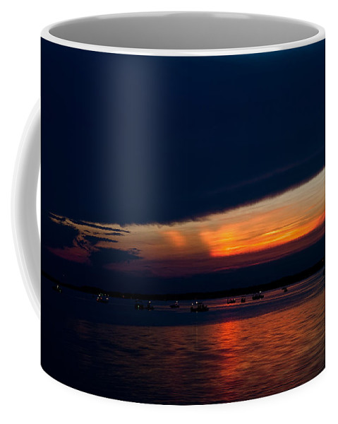 Sunset Coffee Mug featuring the photograph Another Day Down by Christopher Holmes