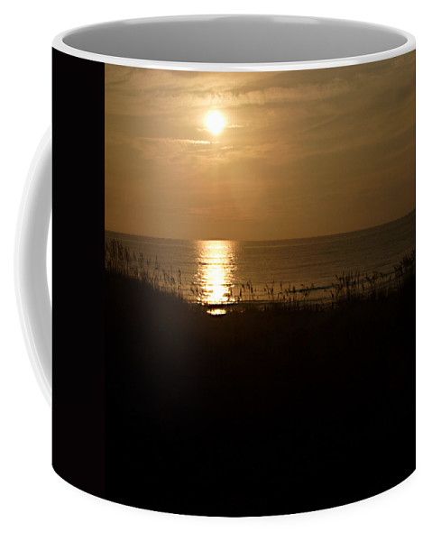 Color Coffee Mug featuring the photograph Another Day Ends by Jean Macaluso