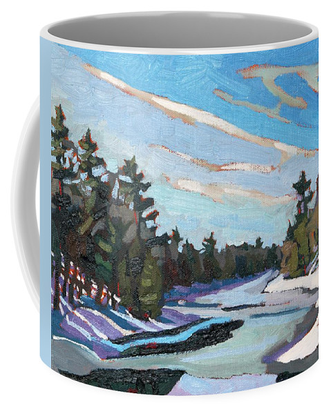Ice Coffee Mug featuring the painting Another Dz by Phil Chadwick