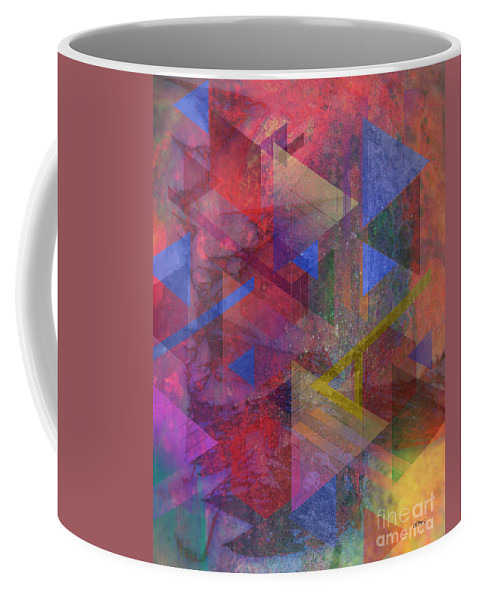 Another Time Coffee Mug featuring the digital art Another Time by John Robert Beck