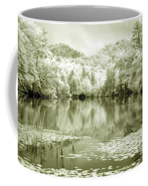 Infrared Coffee Mug featuring the photograph Another World by Alex Grichenko
