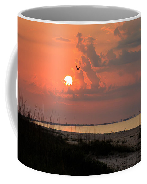 Clouds Coffee Mug featuring the photograph Another World by Gary Oliver