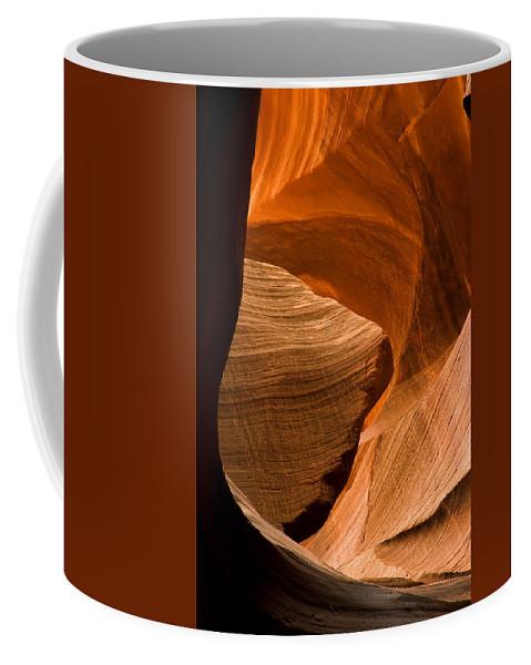 3scape Photos Coffee Mug featuring the photograph Antelope Canyon No 3 by Adam Romanowicz