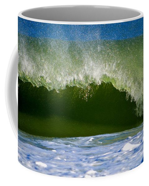 Ocean Coffee Mug featuring the photograph Anticipation by Dianne Cowen