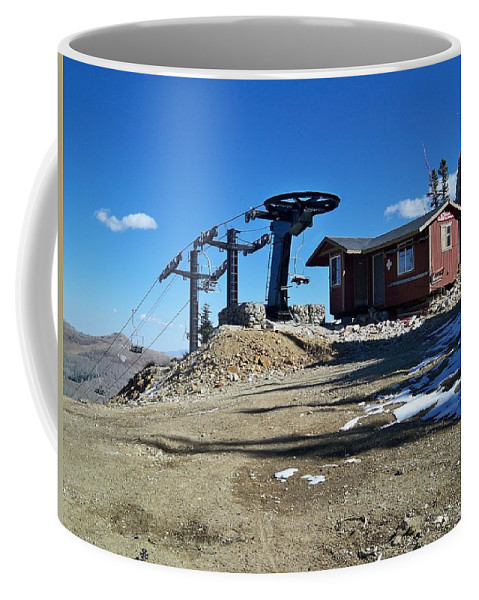 Landscape Coffee Mug featuring the photograph Anticipation by Michael Cuozzo