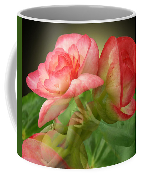 Fleurogeny Art Coffee Mug featuring the digital art Anticipation by Torie Tiffany