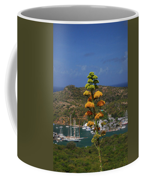 Caribbean Islands Coffee Mug featuring the photograph Antigua National Flower by Gary Wonning