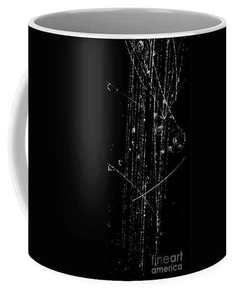 Science Coffee Mug featuring the photograph Antiproton-proton Collision, Bubble by Science Source