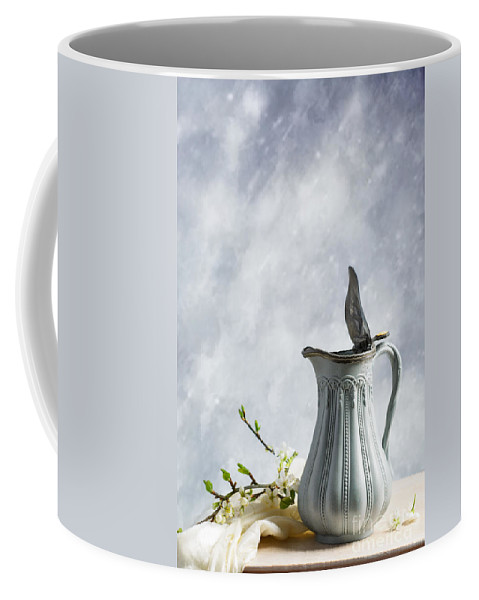 Antique Coffee Mug featuring the photograph Antique Jug by Amanda Elwell