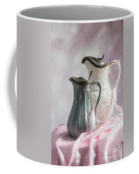 Antique Coffee Mug featuring the photograph Antique Jugs by Amanda Elwell
