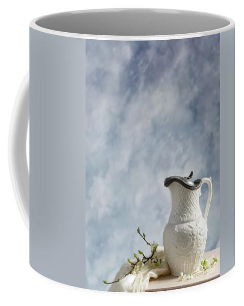 Antique Coffee Mug featuring the photograph Antique Lidded Jug by Amanda Elwell