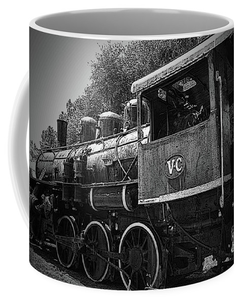 Locomotive Coffee Mug featuring the photograph Antique Loco by Jost Houk