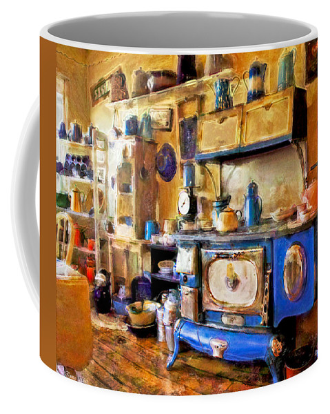 Kitchens Coffee Mug featuring the photograph Antique Store Kitchen by Anna Louise