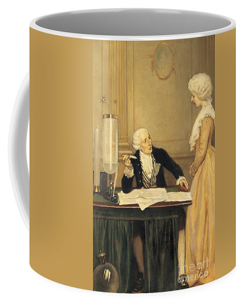 Science Coffee Mug featuring the photograph Antoine-laurent Lavoisier by Wellcome Images