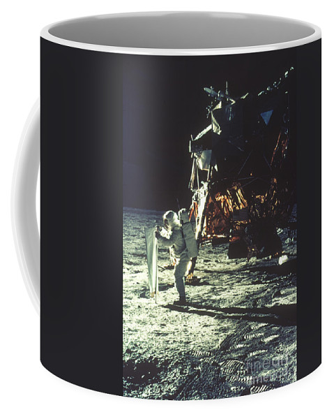 1969 Coffee Mug featuring the photograph Apollo 11: Sun Sheet by Granger
