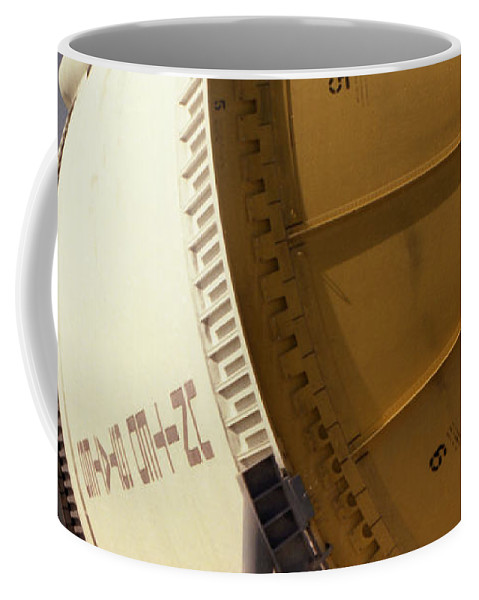 Technology Coffee Mug featuring the photograph Apollo Rocket by Richard Rizzo