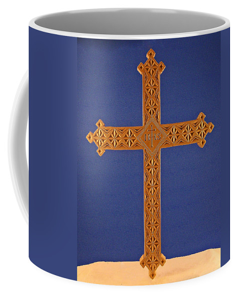 Apostle's Cross Coffee Mug featuring the photograph Apostle's Cross by James Pinkerton