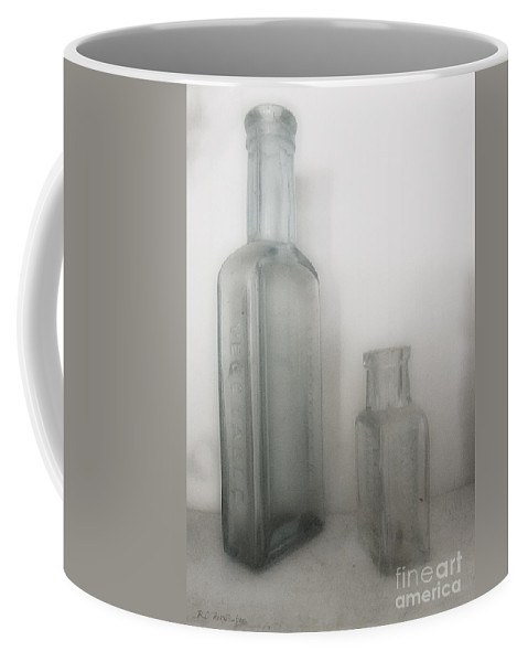 Antique Coffee Mug featuring the photograph Apothecary Antiques by RC DeWinter