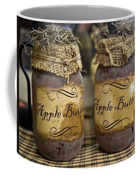 Apple Coffee Mug featuring the photograph Apple Butter by Douglas Barnett