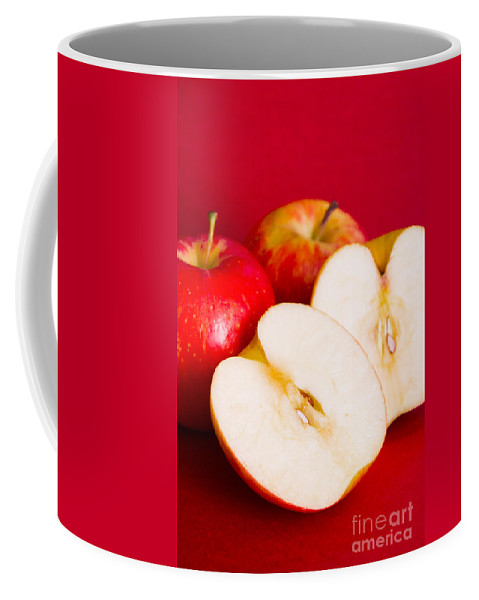 Fruit Coffee Mug featuring the photograph Apple Still Life by Jorgo Photography - Wall Art Gallery