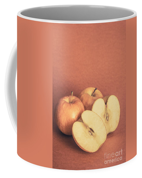 Retro Coffee Mug featuring the photograph Apples In Autumn by Jorgo Photography - Wall Art Gallery