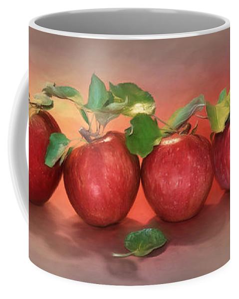 Apple Coffee Mug featuring the photograph Apples by Lori Deiter