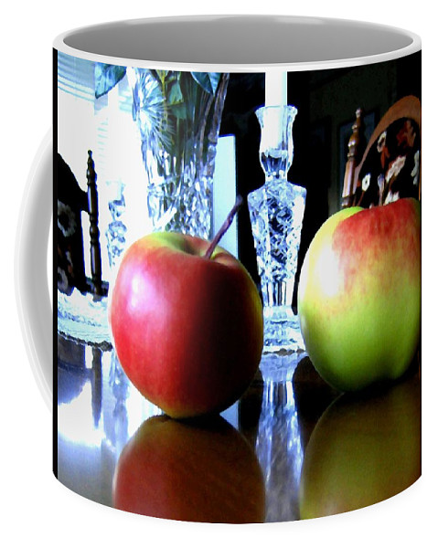 Apples Coffee Mug featuring the photograph Apples Still Life by Will Borden