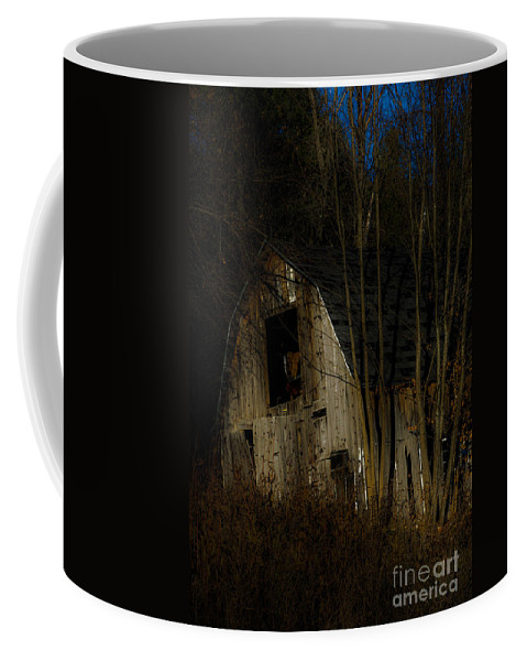 Dark Coffee Mug featuring the photograph Approaching Darkness by Sherman Perry
