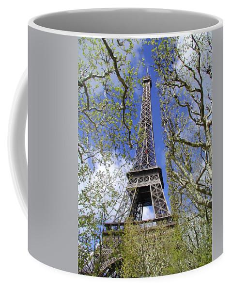 Paris Coffee Mug featuring the photograph April In Paris by Tom Reynen