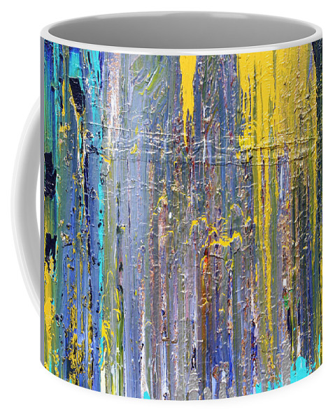 Fusionart Coffee Mug featuring the painting Arachnid by Ralph White